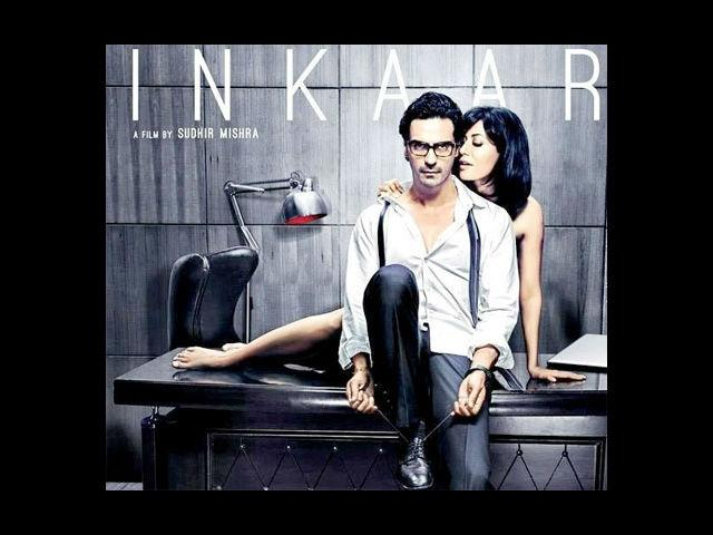 <b>7. Chitrangada Singh and Arjun Rampal in Inkaar</b><br>Chitrangada Singh and Arjun Rampal will be seen in Sudhir Mishra's 'Inkaar'. Scheduled to release on January 18, it's a crime film based on sexual harassment at work and has a lot of steamy scenes between Arjun and Chitrangada. The office in the film is an ad agency.