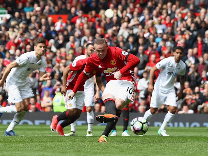 Rooney put United ahead from the spot (Getty Images)