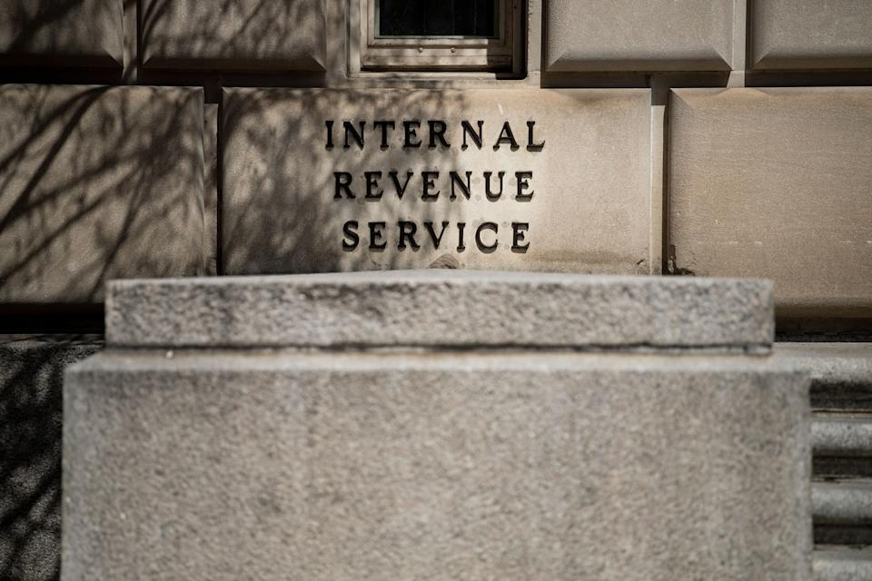 A view of the Internal Revenue Service building is seen on March 27, 2019, in Washington, DC. (Photo by Brendan Smialowski / AFP)        (Photo credit should read BRENDAN SMIALOWSKI/AFP/Getty Images)