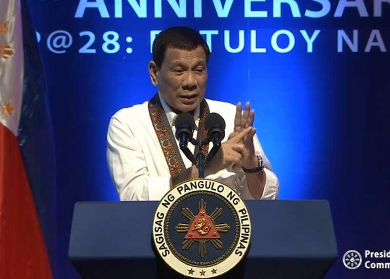 Duterte: Is it wrong to kill those who destroy my country?