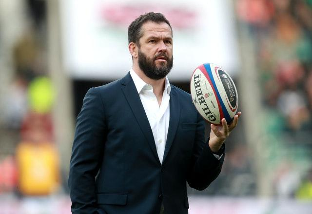 Ireland head coach Andy Farrell has fitness concerns to contend with