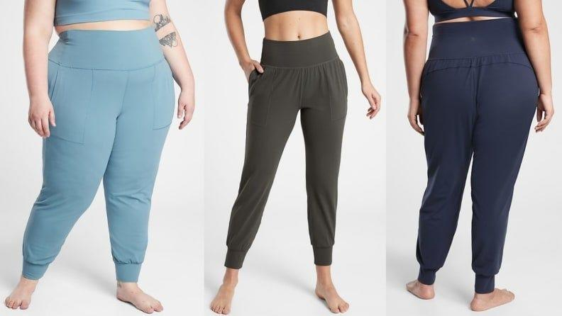 You haven't known comfort until you've tried a yoga class in Athleta joggers.