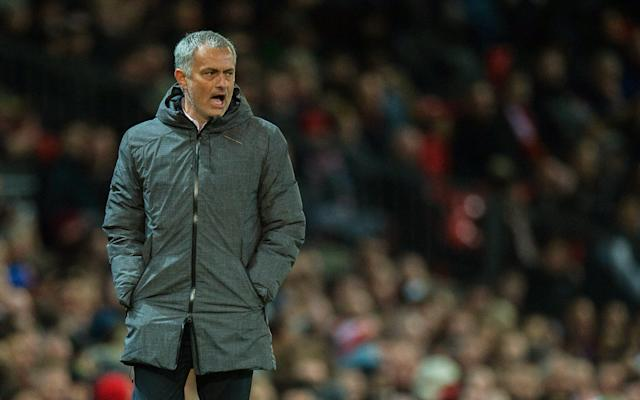 <span>Jose Mourinho wants United to be more ruthless </span> <span>Credit: EPA </span>