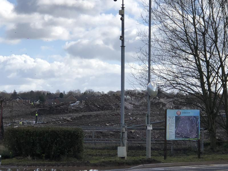 Red Industries owns the landfill site, which was formerly a clay extraction quarry (James Morris)