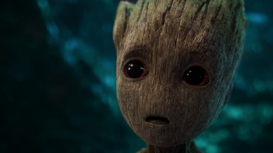 The adorable Baby Groot (credit: Marvel Studios)