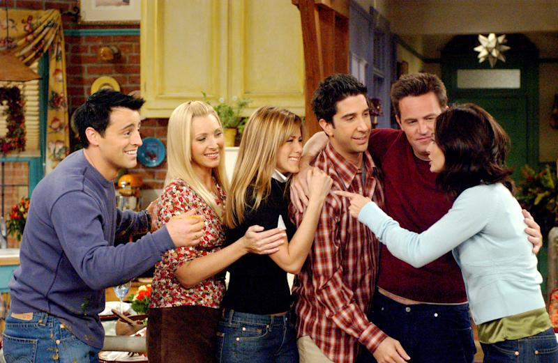 Jennifer Aniston Says the Friends Cast Is Working on Something Together