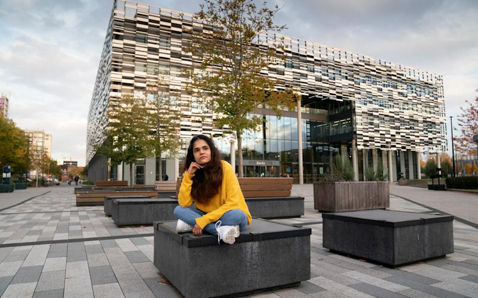 Aashni Shah, a 22-year-old student is worried about her mental health