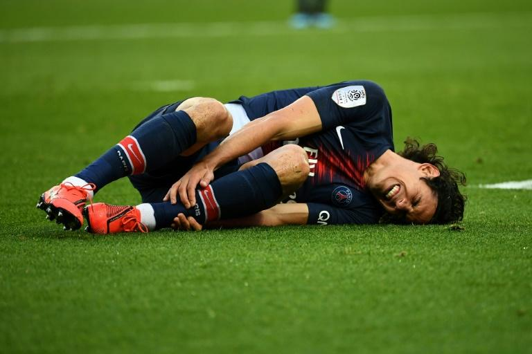 Edinson Cavani has scored 22 goals in 26 games for PSG this season