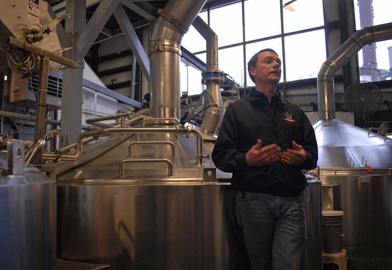 Beer will help power Alaska brewery