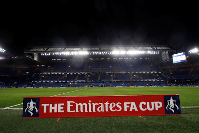 Soccer Football - FA Cup Fifth Round - Chelsea vs Hull City - Stamford Bridge, London, Britain - February 16, 2018 General view of Stamford Bridge before the match REUTERS/Eddie Keogh