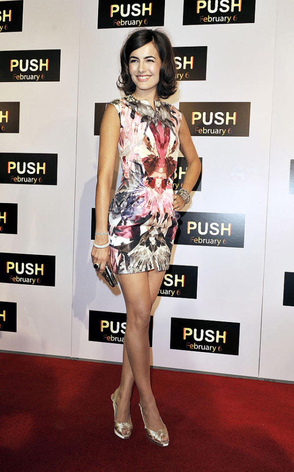 """<a href=""""http://movies.yahoo.com/movie/contributor/1800024058"""">Camilla Belle</a> at the Los Angeles premiere of <a href=""""http://movies.yahoo.com/movie/1809922967/info"""">Push</a> - 01/29/2009"""