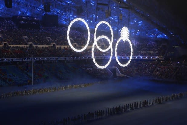 Sochi Olympics: Stray Dog, Ring Fail Bring Awkward to the Opening Ceremony (Photos)