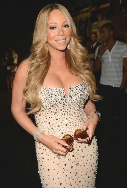 Mariah Carey attends the 2012 BET Awards at The Shrine Auditorium in Los Angeles on July 1, 2012  -- Getty Images