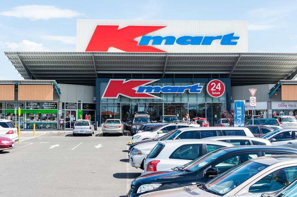 Melbourne, Australia - January 2, 2015: Kmart store in Burwood in suburban Melbourne. Kmart is a discount department store owned by Wesfarmers.