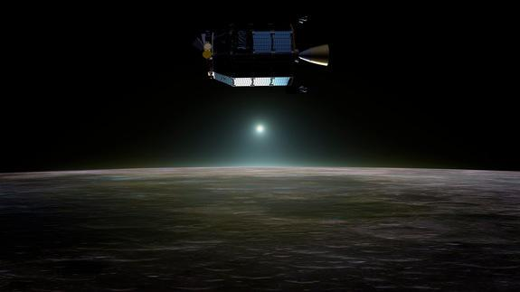 Near mission's end, NASA's LADEE is soon to bite the dust, will purposely smash into the moon's far side.