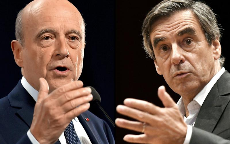 Alain Juppe and Francois Fillon - AFP or licensors
