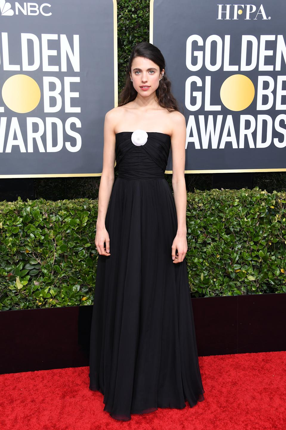 "<h1 class=""title"">Margaret Qualley in Chanel</h1><cite class=""credit"">Photo: Getty Images</cite>"
