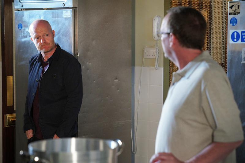 Max Branning has come to blows with Ian Beale recently. (BBC)