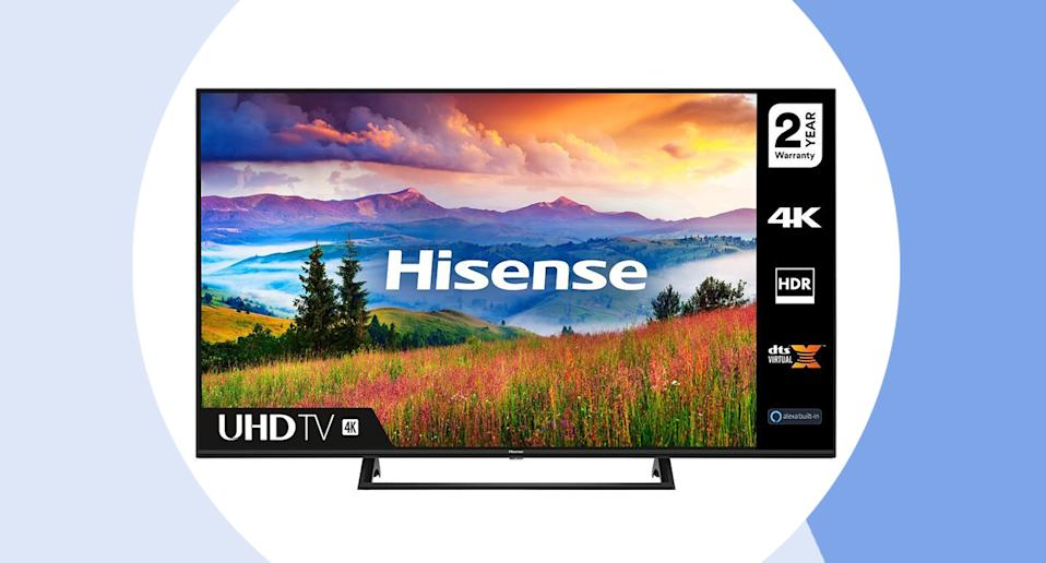 The budget-friendly TV to know about. (Hisense)