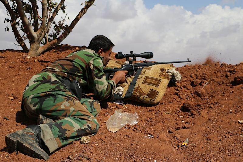 The US military denied claims that Syrian Kurdish forces had snagged ammunition from a massive air drop that was intended for Syrian Arabs fighting Islamic State jihadists