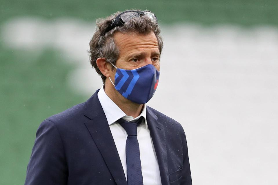 <p>France head coach Fabien Galthie retains the support of the French Rugby Federation</p> (POOL/AFP via Getty Images)