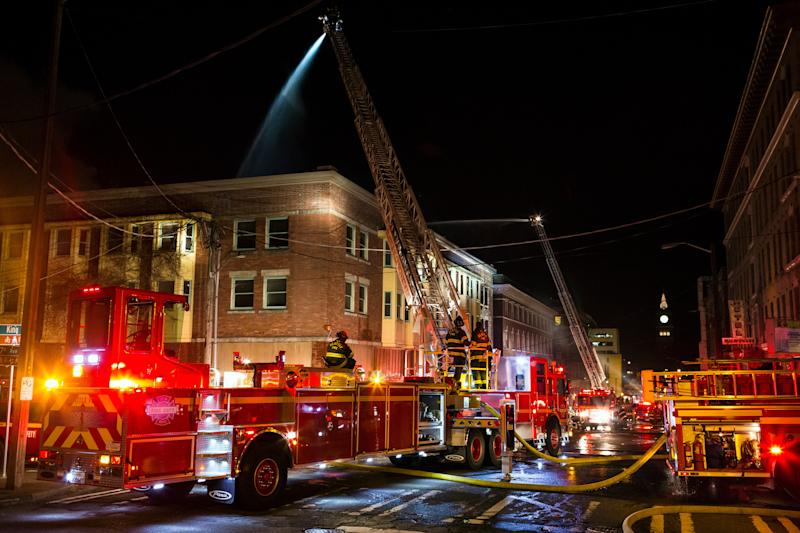 Seattle building that burned was site of massacre