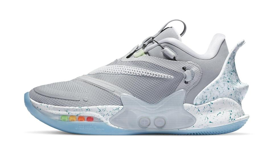 Nike S Back To The Future Sneaker Inspires This Adapt Bb 2 0 Colorway