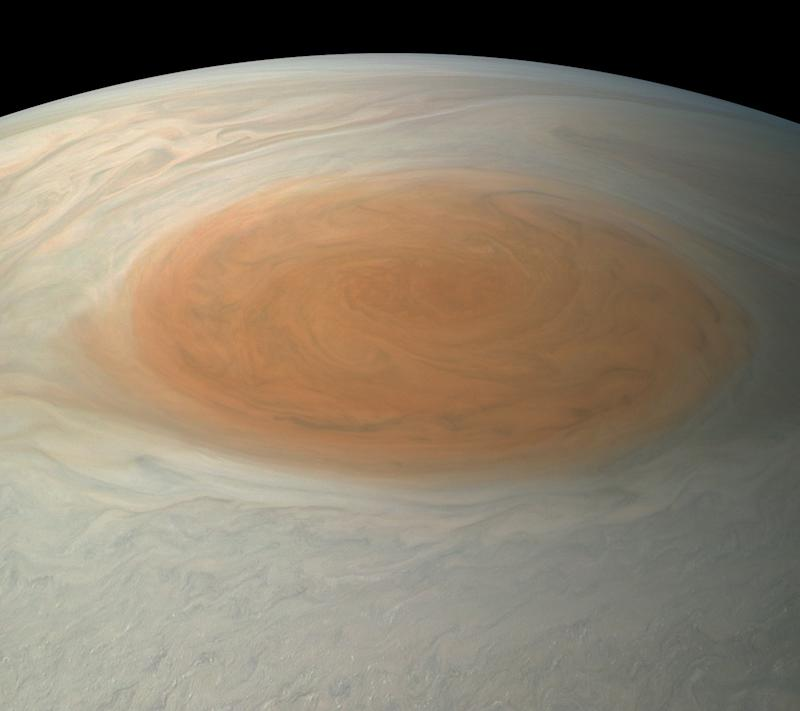 NASA's Juno Orbiter Explores Depths of Jupiter's Great Red Spot