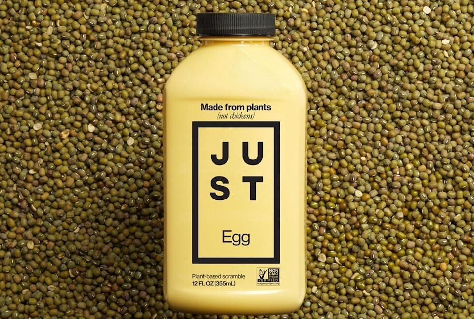 Just Egg is made entirely from plants. Photo: Facebook