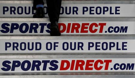 Sports Direct first-half profits slump 67%