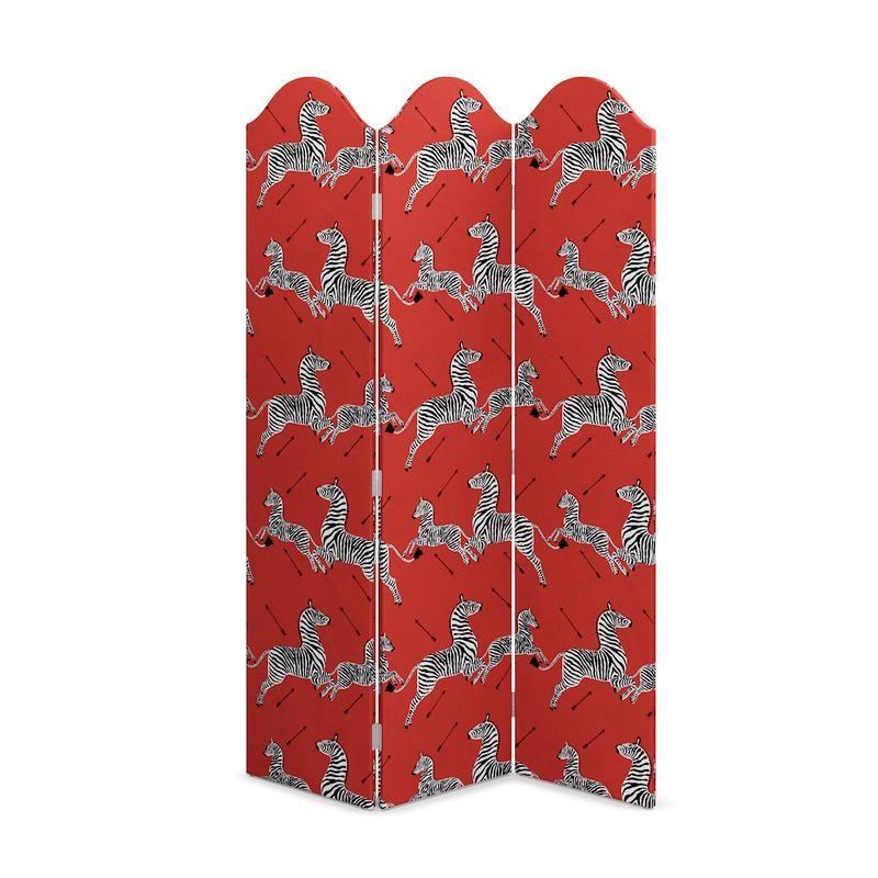 """<h3><a href=""""https://www.theinside.com/products/scalloped-screen-coral-zebra-by-scalamandre/SKY_80-72_CoralZebraByScalamandre"""" rel=""""nofollow noopener"""" target=""""_blank"""" data-ylk=""""slk:The Inside Scalamandré Coral Zebra Screen"""" class=""""link rapid-noclick-resp"""">The Inside Scalamandré Coral Zebra Screen</a></h3><p>Use this classic trifold screen in a bold pattern to stylishly section off private areas inside a studio apartment.</p><br><br><strong>The Inside</strong> Scalloped Screen, $349, available at <a href=""""https://www.theinside.com/products/scalloped-screen-coral-zebra-by-scalamandre/SKY_80-72_CoralZebraByScalamandre"""" rel=""""nofollow noopener"""" target=""""_blank"""" data-ylk=""""slk:The Inside"""" class=""""link rapid-noclick-resp"""">The Inside</a>"""