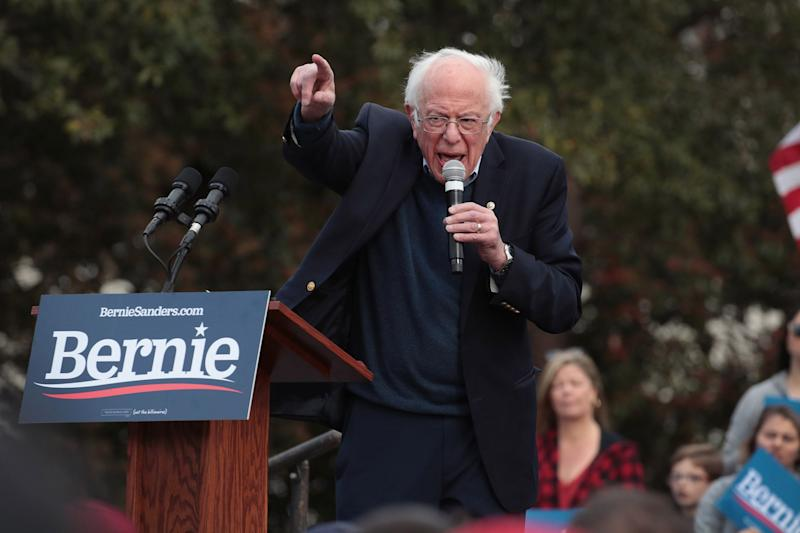 Sanders Is Looking to Knock Out Warren on Her Home Turf