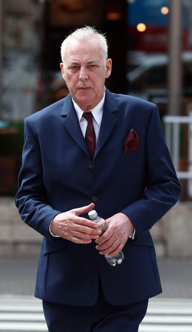Michael Barrymore has repeatedly denied any wrongdoing (Gareth Fuller/PA)