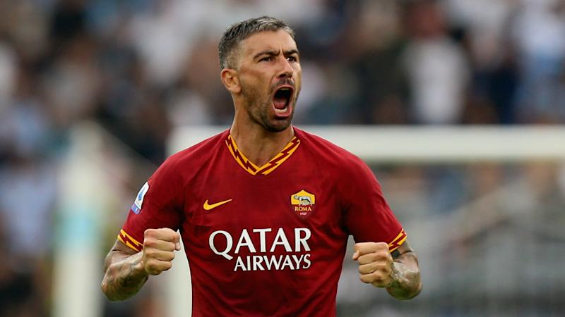 Inter sign Kolarov from Roma