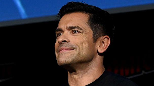 PHOTO: Mark Consuelos speaks on stage during the Riverdale Special Video panel during New York Comic Con 2019, October 06, 2019, in New York. (Ilya S. Savenok/Getty Images for ReedPOP)