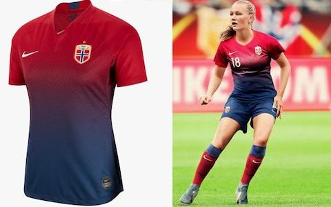 Norway home kit, Women's World Cup 2019 - Credit: NIKE
