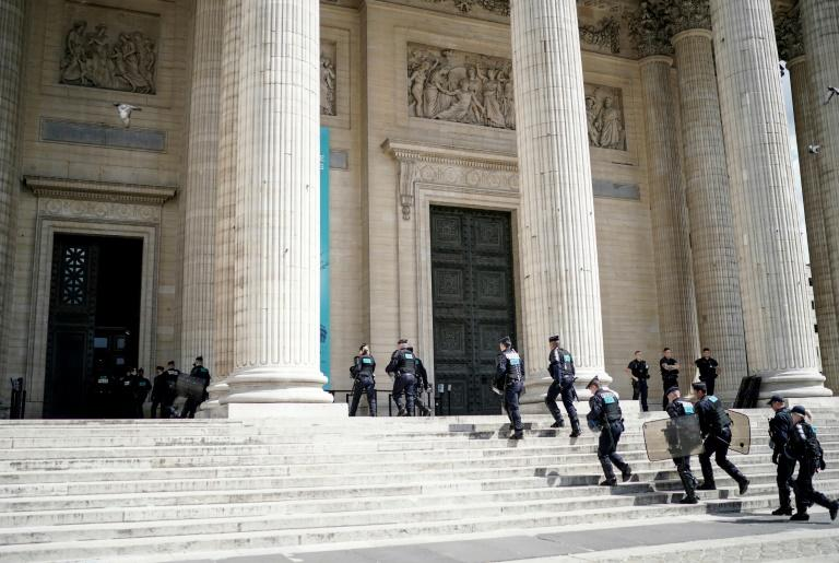 The Pantheon is the final resting place of France's greatest non-military luminaries including the writers Voltaire, Victor Hugo and Emile Zola
