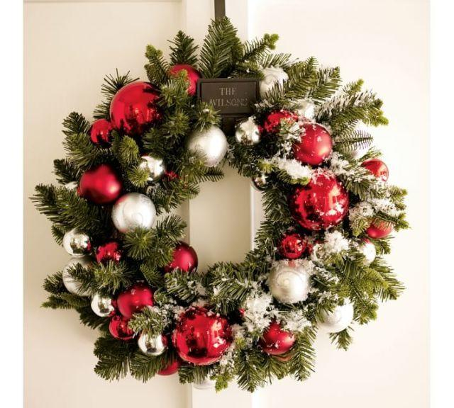 50 christmas wreaths to welcome the holiday season - Admirable christmas wreath decorating ideas to welcome the december ...