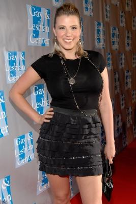 Jodie Sweetin arrives to support The Gay and Lesbian Center's gala 'An Evening With Women' at The Beverly Hilton hotel in Beverly Hills on April 16, 2011  -- FilmMagic