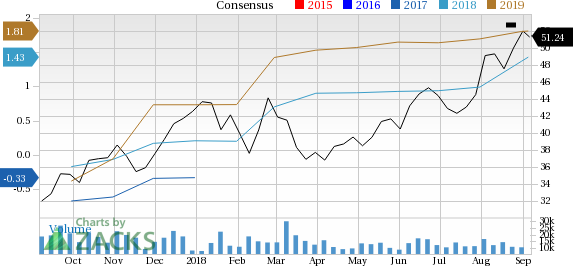 CF Industries (CF) is seeing positive earnings estimate revisions, suggesting that it could be a solid choice for investors.