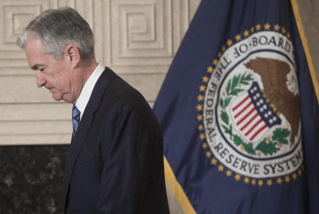 Jerome Powell, chair of the Federal Reserve, is stepping into the top job at the central bank at a crucial juncture for markets and the economy. (AFP | SAUL LOEB)