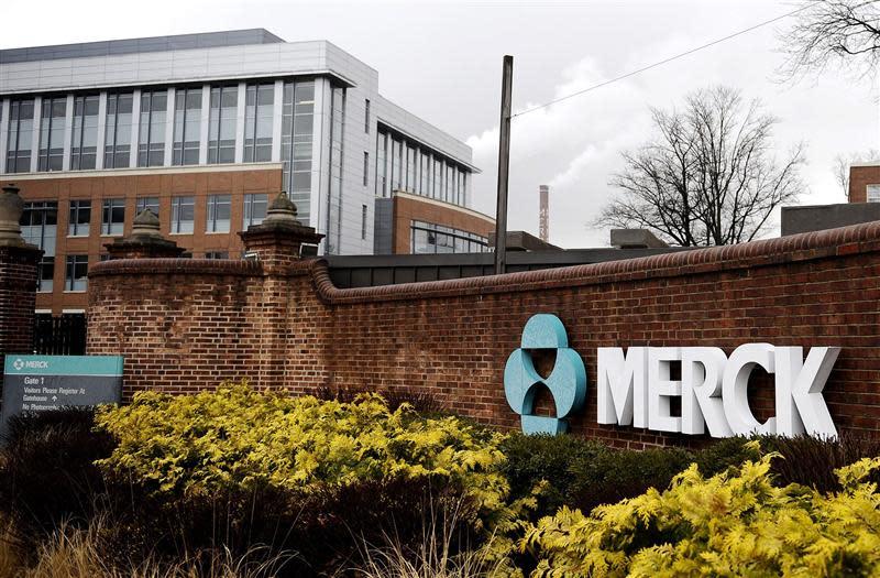 A view of the Merck & Co. campus in Linden, New Jersey in this March 9, 2009 file photo. REUTERS/Jeff Zelevansky/Files
