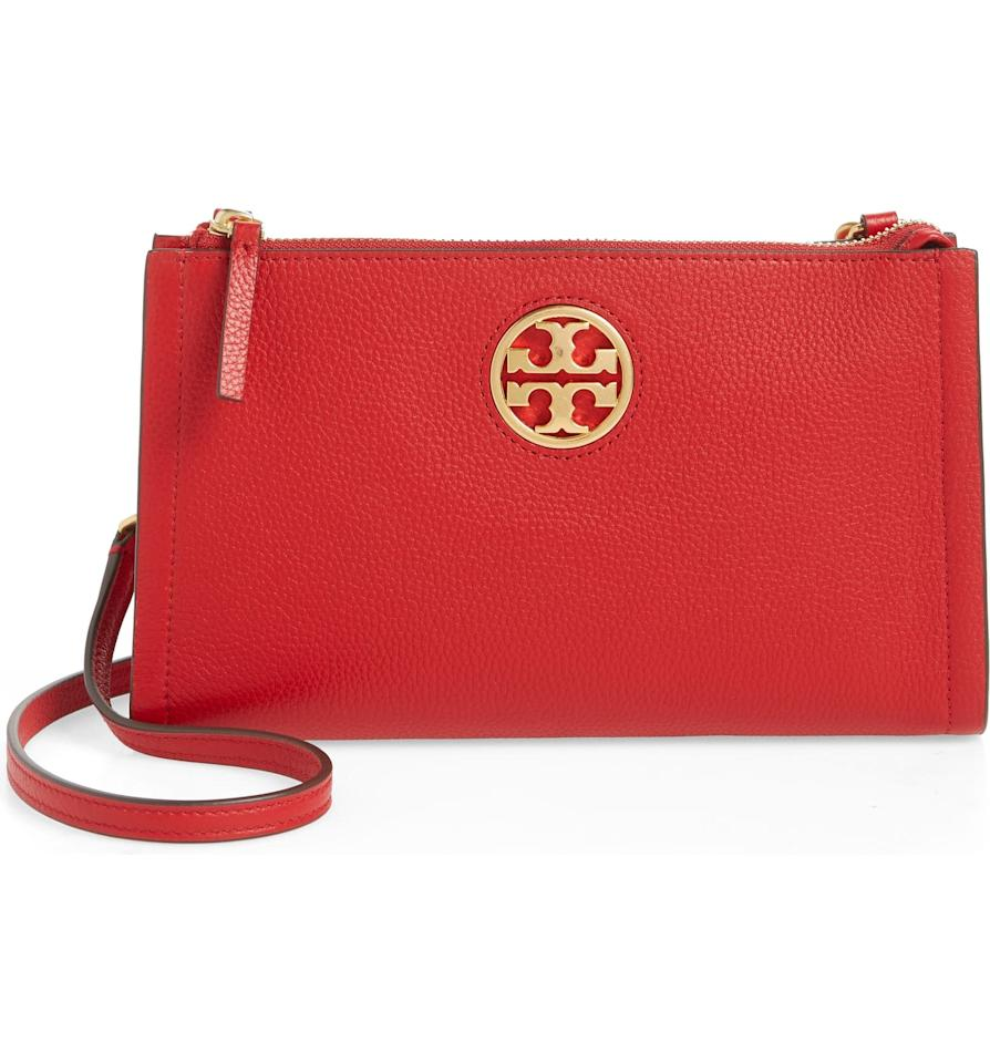 "<p><product href=""https://www.nordstrom.com/s/tory-burch-carson-zip-top-crossbody-bag/5609956?origin=category-personalizedsort&amp;breadcrumb=Home%2FAnniversary%20Sale%2FWomen%2FHandbags%20%26%20Accessories&amp;color=black"" target=""_blank"" class=""ga-track"" data-ga-category=""Related"" data-ga-label=""https://www.nordstrom.com/s/tory-burch-carson-zip-top-crossbody-bag/5609956?origin=category-personalizedsort&amp;breadcrumb=Home%2FAnniversary%20Sale%2FWomen%2FHandbags%20%26%20Accessories&amp;color=black"" data-ga-action=""In-Line Links"">Tory Burch Carson Zip Top Crossbody Bag</product> ($150, originally $248)</p>"