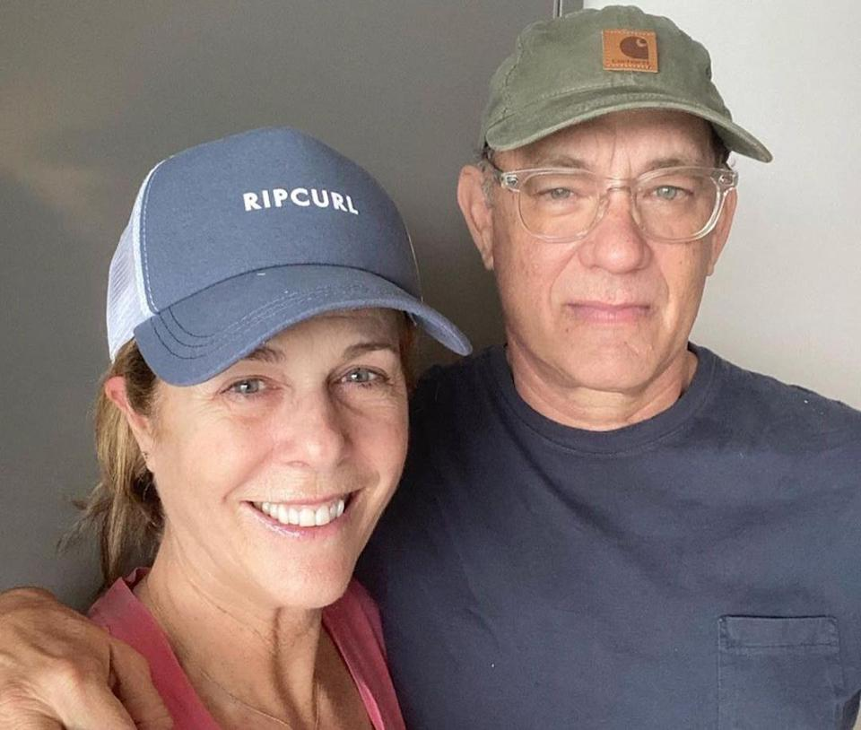 "<p>Late at night on the 11th of March, pop culture entered the picture when Tom Hanks and Rita Wilson, in Australia to film his latest movie, announced they'd <a href=""https://people.com/health/tom-hanks-rita-wilson-test-positive-for-coronavirus/"" rel=""nofollow noopener"" target=""_blank"" data-ylk=""slk:been diagnosed with COVID-19"" class=""link rapid-noclick-resp"">been diagnosed with COVID-19</a>. ""We felt a bit tired, like we had colds, and some body aches. Rita had some chills that came and went. Slight fevers too,"" Hanks, then 63, wrote in an Instagram post. ""Well, now. What to do next? The Medical Officials have protocols that must be followed. We Hanks' will be tested, observed, and isolated for as long as public health and safety requires. Not much more to it than a one-day-at-a-time approach, no? We'll keep the world posted and updated. Take care of yourselves!""</p>"