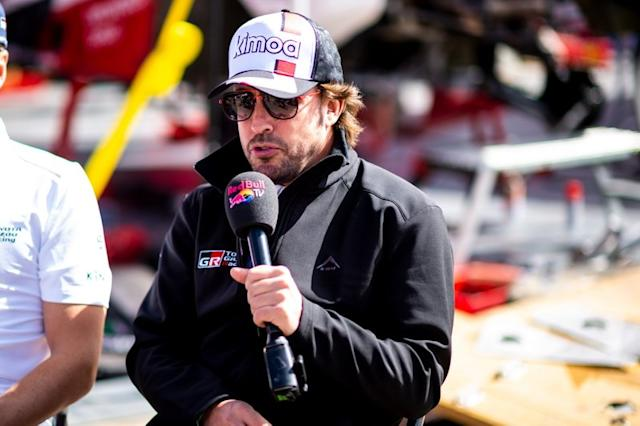"#310 Toyota Gazoo Racing: Fernando Alonso <span class=""copyright"">Red Bull Content Pool</span>"