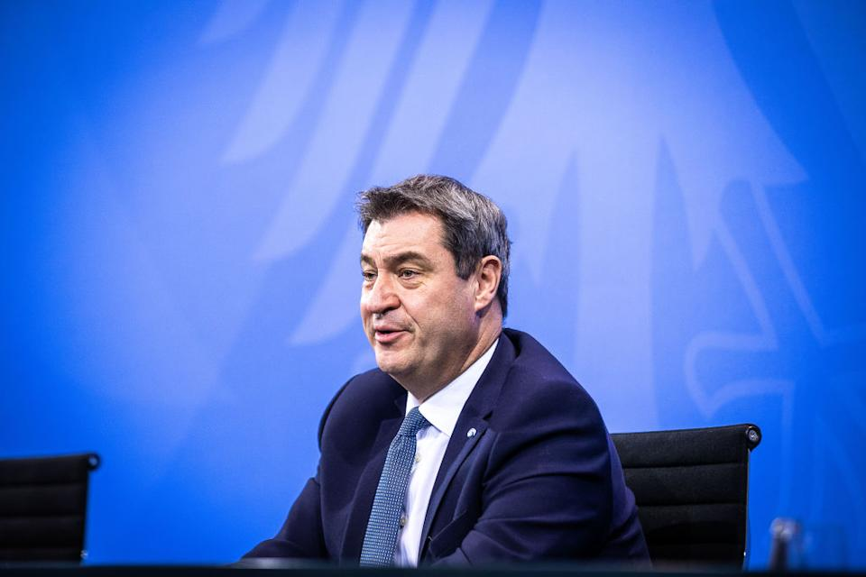 Söder (Photo by Rainer Keuenhof-Pool/Getty Images)