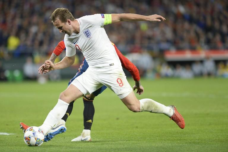 Harry Kane set up two of England's three goals against Spain on Monday