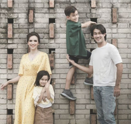 Farid has two children with actress Diana Danielle