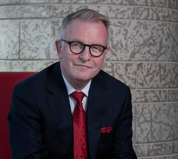 Mark O'Neill, CEO of the Canadian Museum of History, resigned from his position on Wednesday, just two months before his mandate was set to end. He had been at the centre of a workplace harassment investigation. (Canadian Museum of History - image credit)