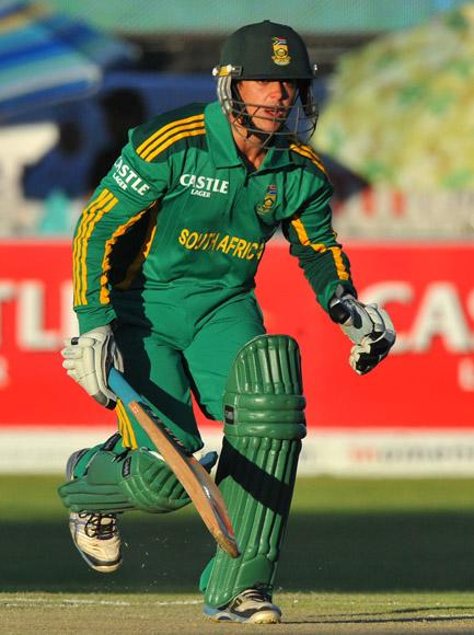 Quinton de Kock of South Africa during the 2nd One Day International match between South Africa and New Zealand at De Beers Diamond Oval on January 22, 2013 in Kimberley, South Africa. (Photo by Duif du Toit/Gallo Images/Getty Images)